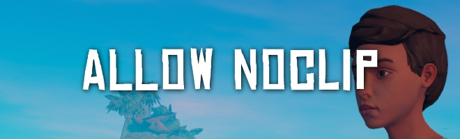 banner image for the AllowNoClip mod