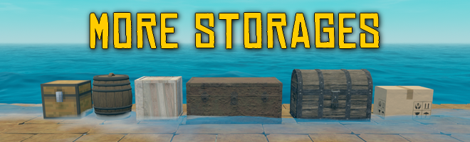banner image for the More Storages mod