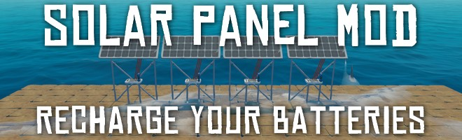 banner image for the Solar Panel mod
