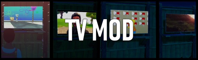 banner image for the TV Mod (ALPHA/DEMO) mod